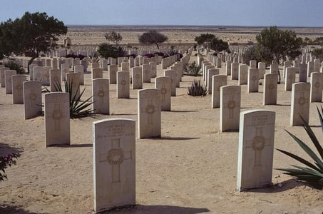 Private El-Alamein WWII Memorial Day Tour from Cairo