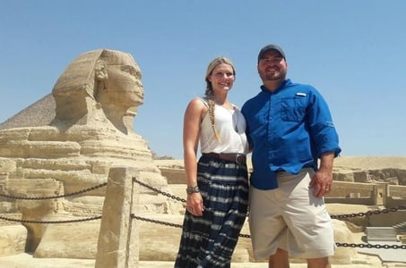 Private Full Day Tour of Giza Pyramids and Egyptian Museum from Cairo