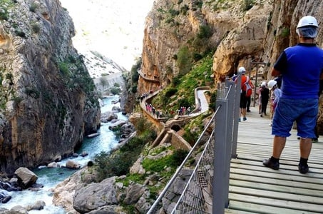 Caminito del Rey Private Half-day Trekking Tour in Malaga