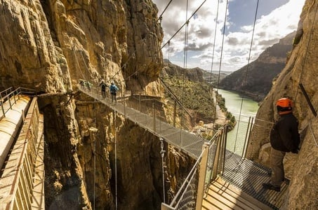 Caminito del Rey Shared 8-Hour Tour From Malaga