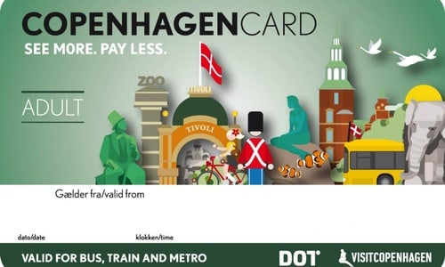 Carte Copenhague