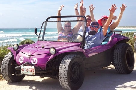 Dune Buggy Scenic Drive with Snorkel and Chankanaab Park from Cancun and Riviera Maya