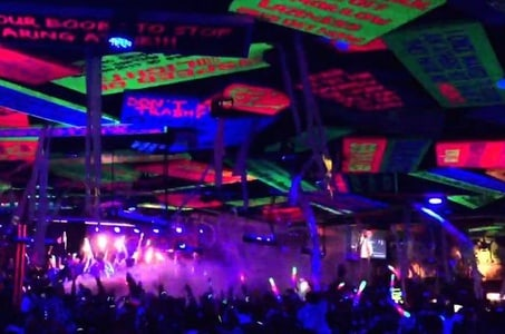 Senor Frog's VIP Night Out in Cancun