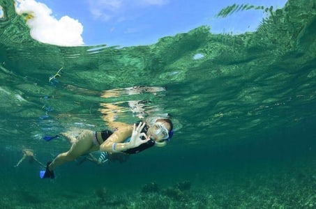 Snorkel Tour in a Cenote and in the Caribbean Sea