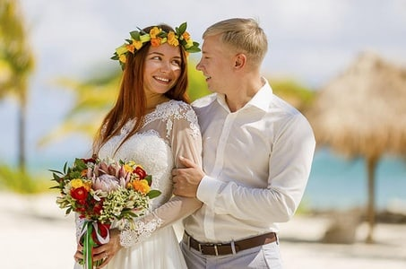 Vows Renewal Package in Cancun and Professional Photographer
