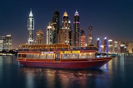 Dhow Cruise Creek with Transfer