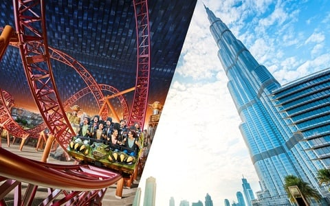 IMG Worlds of Adventure with At the Top, Burj Khalifa tickets