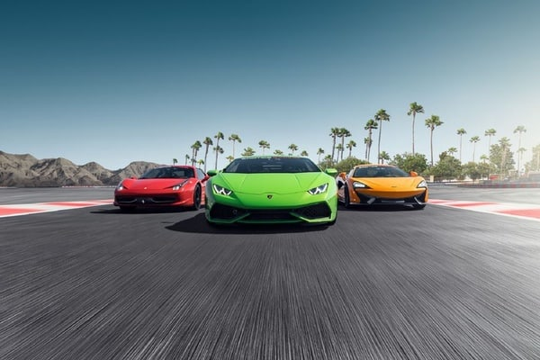 Los Angeles: Supercar Driving Experience in Fontana