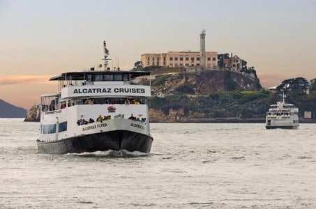 The One Day in San Francisco with Alcatraz