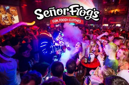 3-Course Dinner Package at Senor Frogs in Orlando