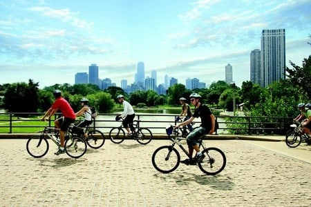 Chicago Lakefront Bike Tour of Lincoln Park