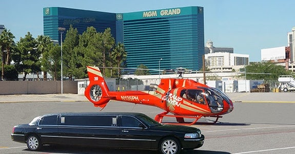 Grand Canyon Helicopter Air Tour with Vegas Strip