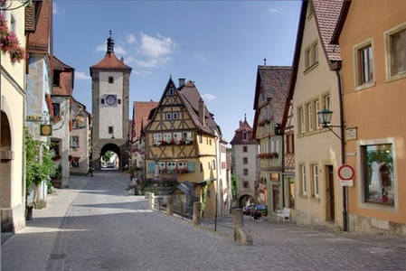 Visite de Rothenburg