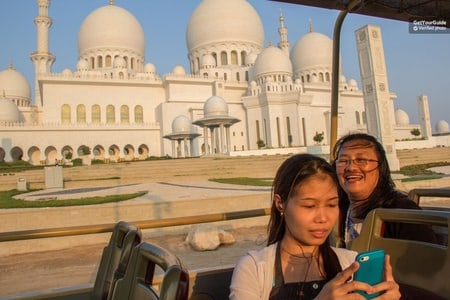 Abu Dhabi: Hop-On Hop-Off Classic, Premium or Deluxe Ticket