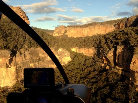 Blue Mountains Eco Tour by Helicopter