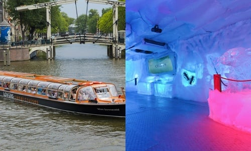 XtraCold Icebar Entrance Ticket And Onehour Canal Cruise - Ice bar on cruise ship