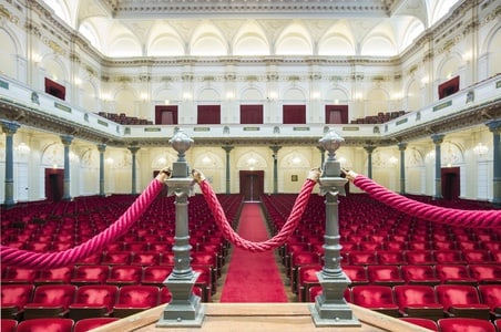 Concertgebouw behind the scenes guided tour