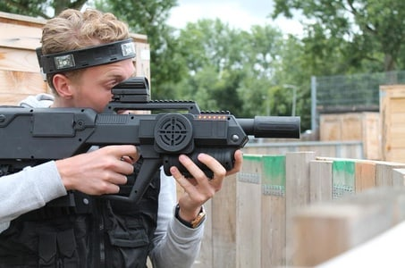 Laser Game in Amsterdam