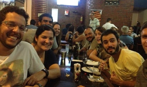 Drinks with Locals & Travelers in Rio
