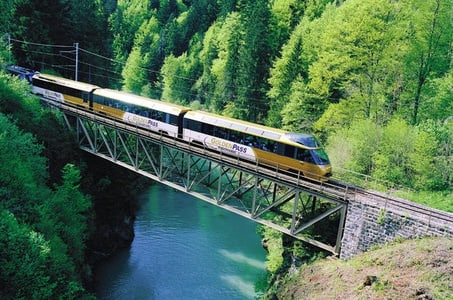 Day Trip to Gruyères including Golden Panoramic Express Train