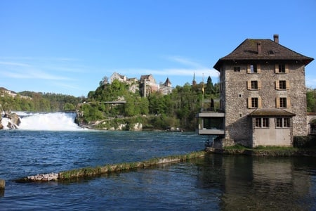 From Zurich to The Rhine Falls