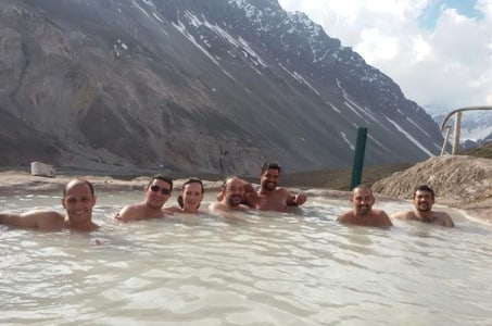 Full-Day Trip to Valle Colina Hot Spring from Santiago
