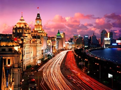 Shanghai by Night with Huangpu River Cruise