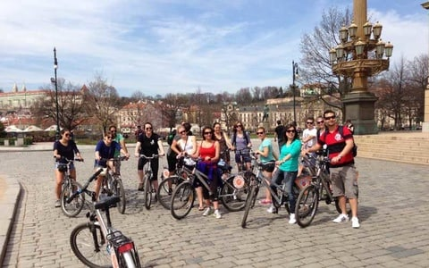 Prague: 2.5-Hour Classic City Bike Tour