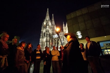 Cologne: Night Watchman Torchlight Tour of Myth and Legend
