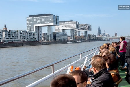Panorama Boat Cruise through Cologne