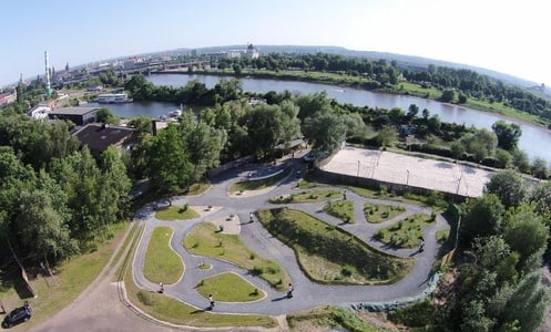 Dresde: FunPark Segway avec parcours hors route