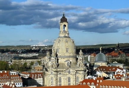 Dresden: Ticket to the Frauenkirche Dome