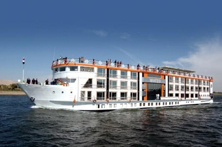 Book Royal Princess 5 days 4 nights from Luxor to Aswan included sightseen
