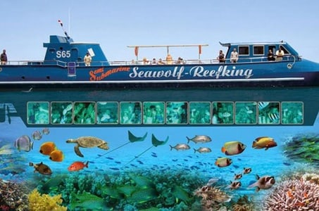 From Hurghada, Glass Boat Famous Trip