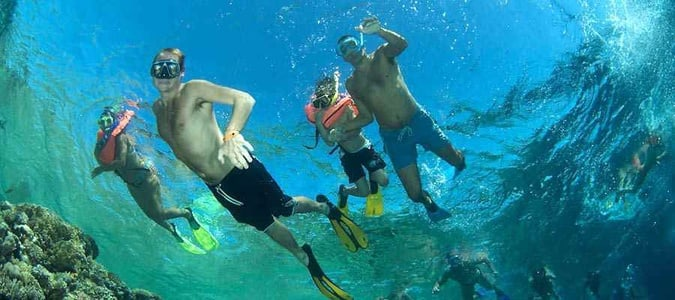 Hurghada: Full-Day Tour Giftun Island Snorkeling with Lunch