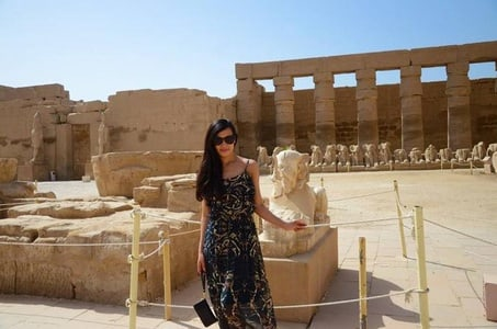 luxor ancient history east wesk bank