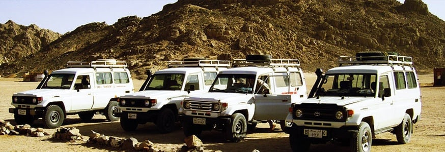 Jeep Safari to the Managed Resource Protected Area of Nabq