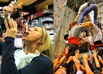 Tapas Evening Walking Tour and Human Tower Experience
