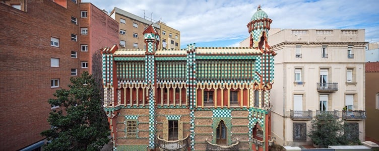 Tour to Casa Vicens, Gaudí's First Architectural Masterpiece