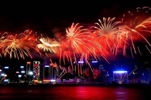 chinese new year fireworks cruise in hong kong - Chinese New Year Fireworks
