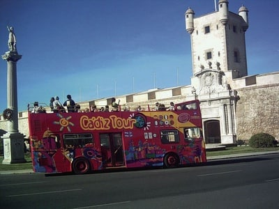 Cadiz Hop-on Hop-off Tour - 24h Ticket