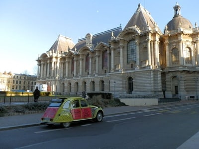 Lille Driving Tour by Convertible Citroen 2CV