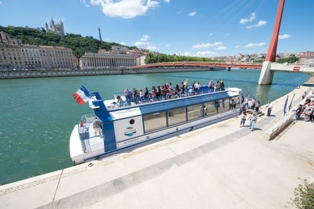 Lyon: 1-Hour Discovery Tour by Boat
