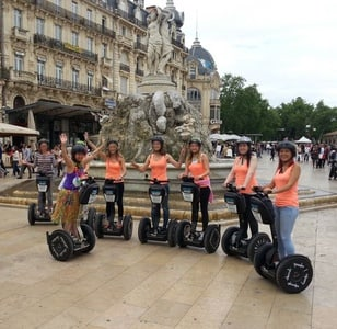 Montpellier 1-Hour Old City Segway Tour