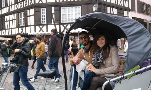 Strasbourg: 75-Minute Sightseeing Tour by Pedicab