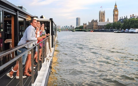 Bateaux London: Sunday Lunch Jazz Cruise on The Thames