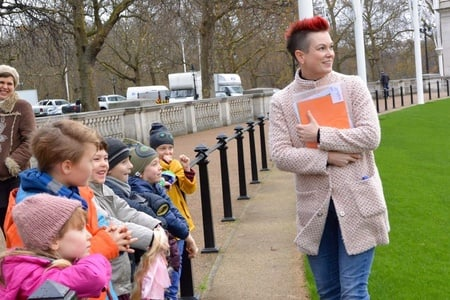 London: Children's Tour of Westminster in German