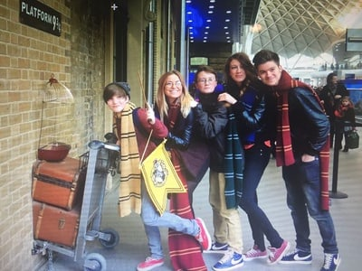 Visite de 3 h des sites Harry Potter à Londres et quai 9 ¾