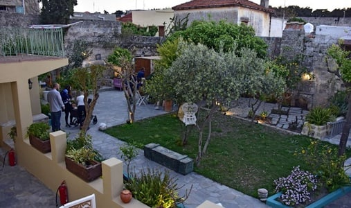 A secret garden in the heart of the old town