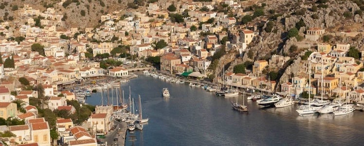 From Rhodes: Boat Trip to Symi Island